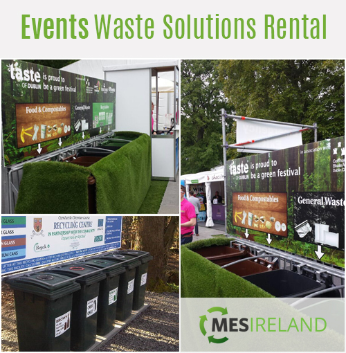 events waste bin rental