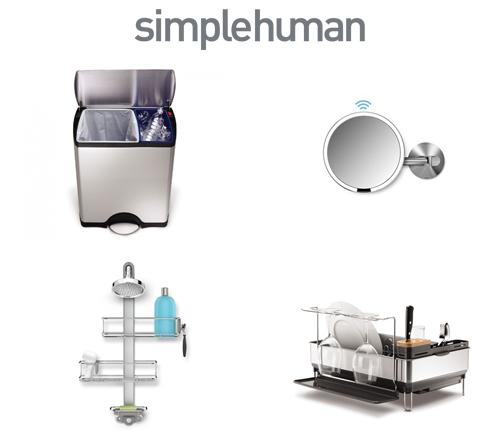 simplehuman-homewares-product-showcase
