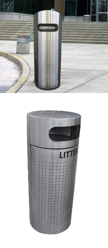 stainless-steel-round-litter-bin