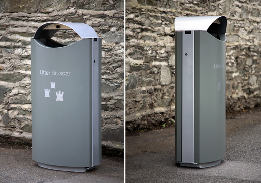 Litter Bins Steel