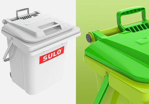 Sulo Rollbox Wheeled Caddy