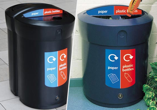 Envoy 110L Duo Recycle Bin