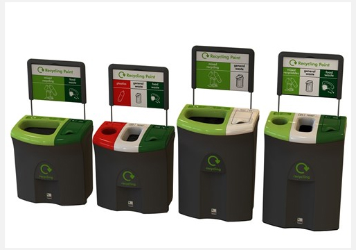 Meridian 110L Recycling Stations