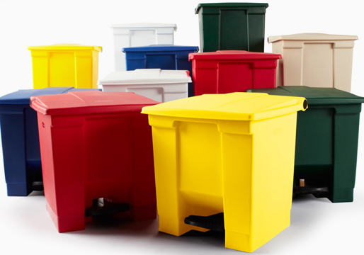 Rubbermaid Step On Containers