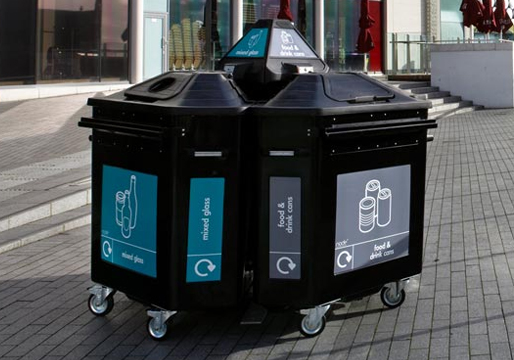 Urban Recycling Bins