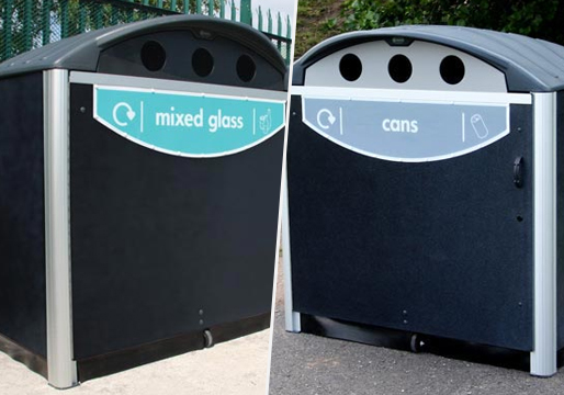Modus 1280 Wheelie Bin Housing