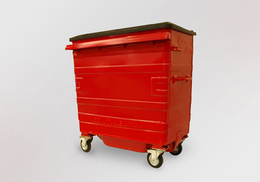 Wheelie Bins 4 Wheels Steel