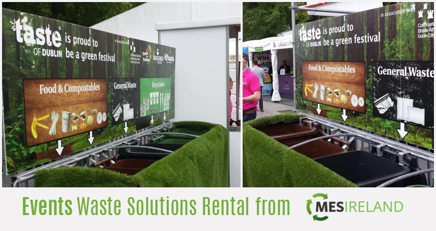 Event Recycling Bin Rental